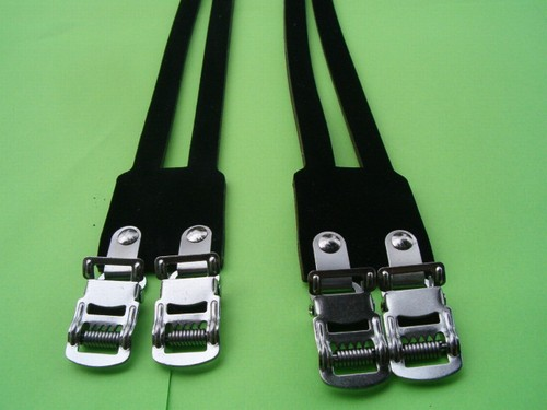 Double Leather Toe Straps